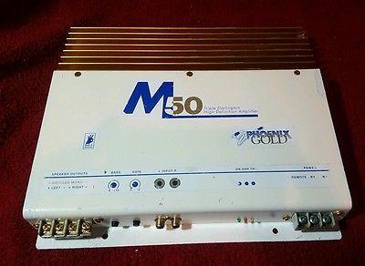 car amplifier phoenix gold m50 old school professional mobile