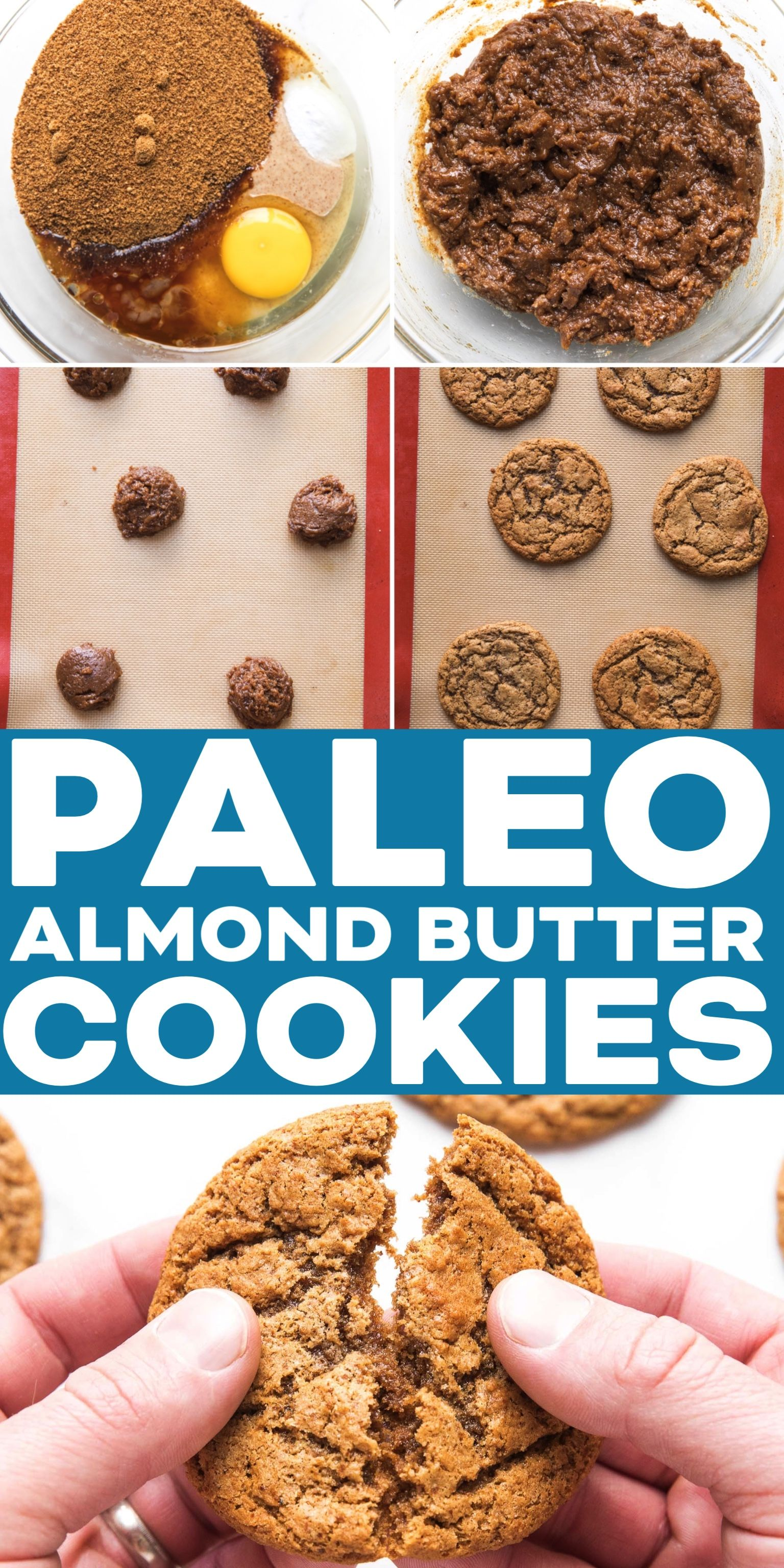 Paleo Almond Butter Cookies Recipe Video Just 5 Ingredients 1