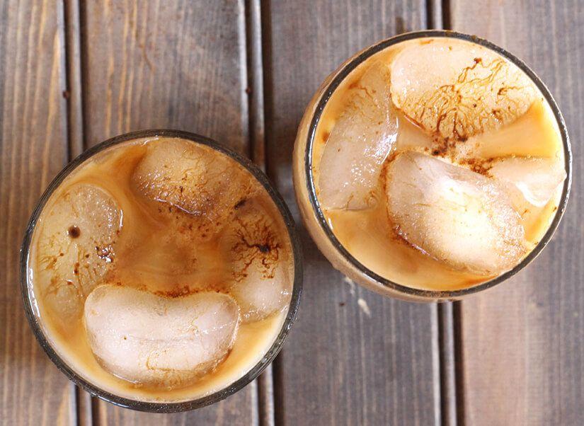 Iced coffee thai iced coffee iced coffee food