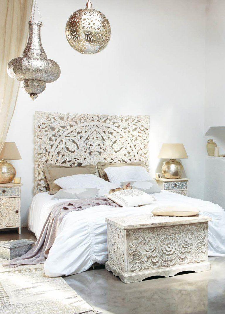 Tete De Lit Style Exotique Idee Deco Chambre Tete De Lit