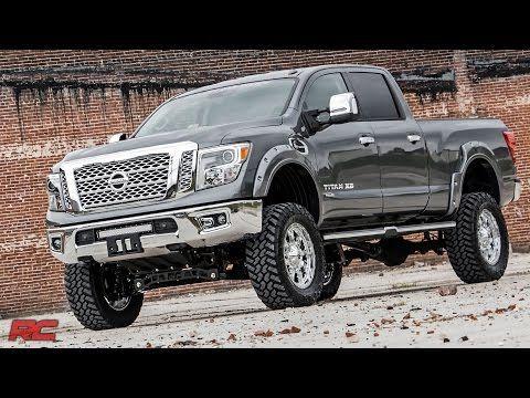 6in Nissan Suspension Lift Kit 16 20 Titan Xd 4wd Cummins Trucks Dodge Diesel Trucks