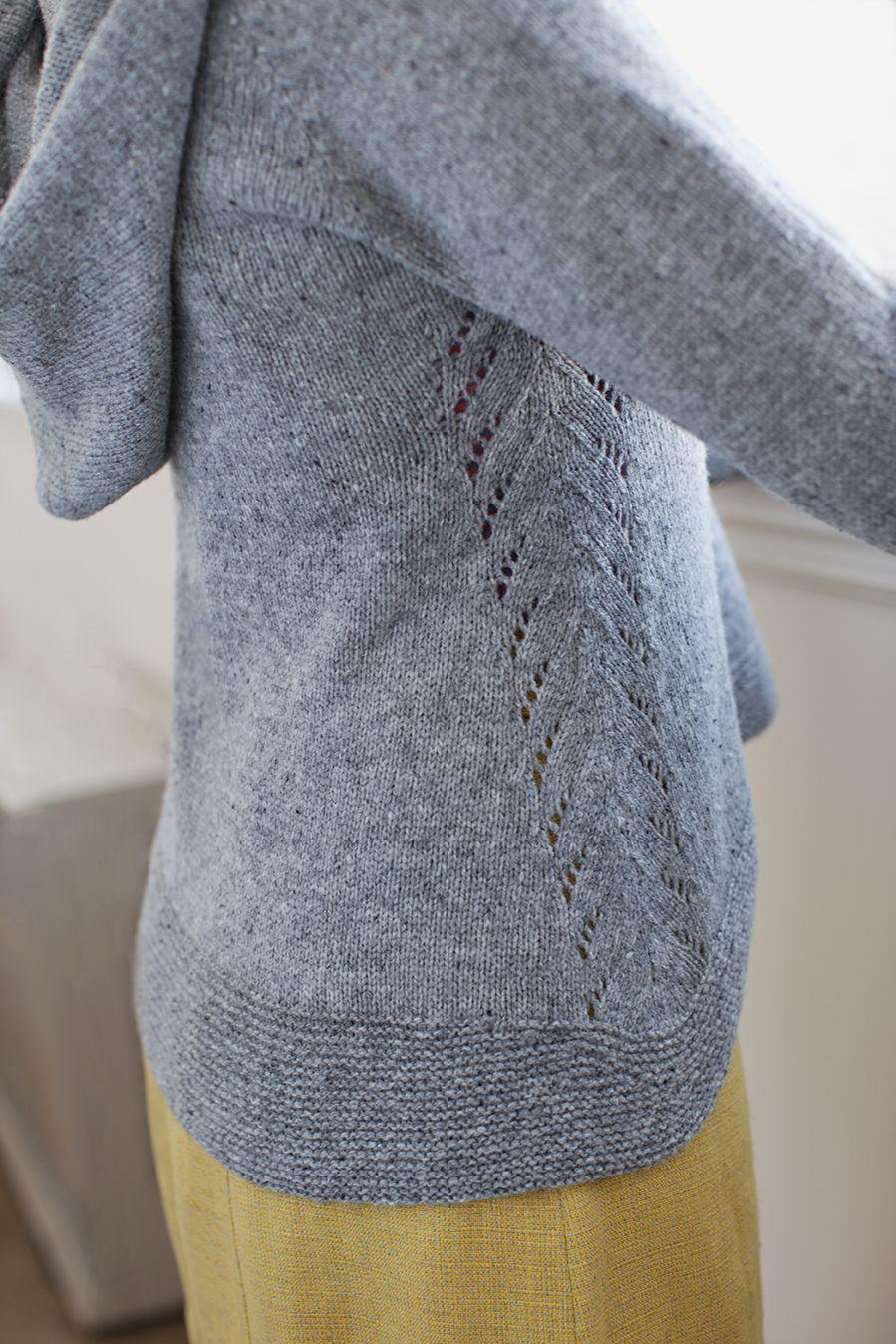 Edge hoodie pullover from Brooklyn Tweed