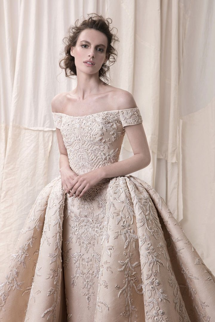 Krikor Jabotian 2018 Bridal Collection – Sophisticated Wedding Dresses With Impeccable Detailing