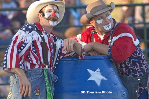 God Bless The Rodeo Clowns I Have To Say Thank You To