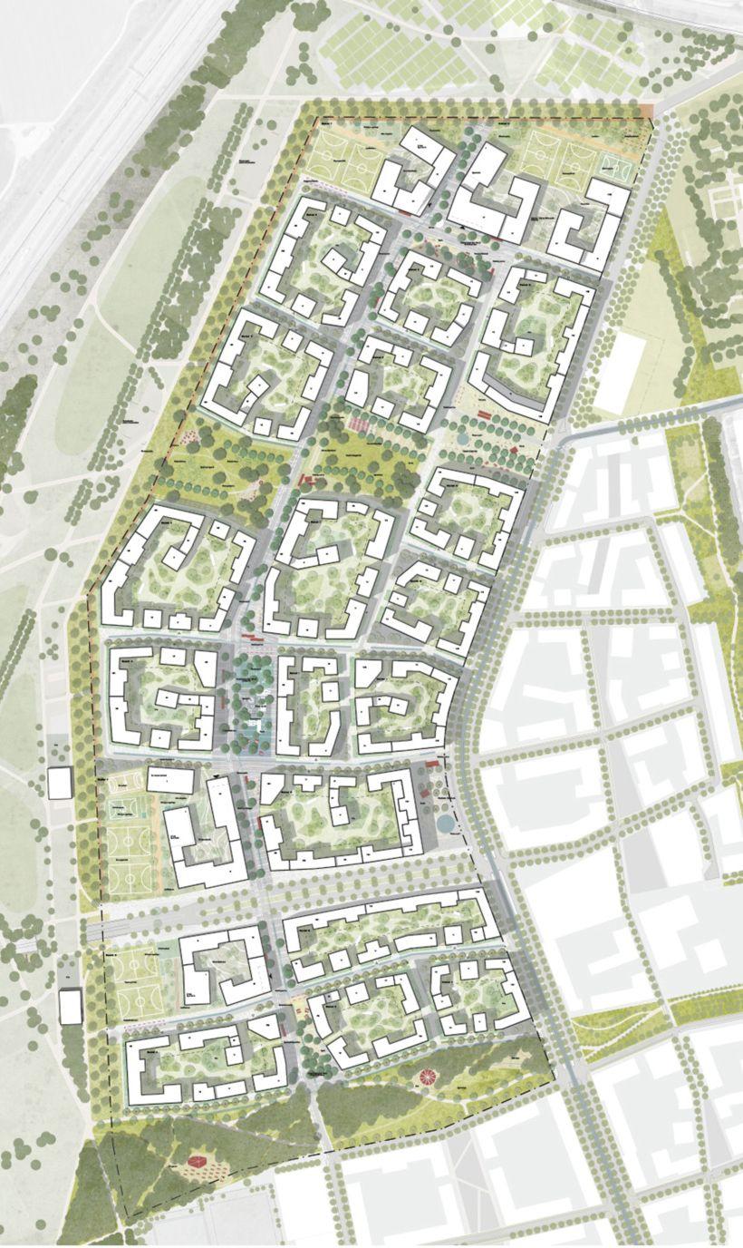 Munchens Neuer Stadtteil Wachst Wettbewerb Fur Freiham Nord