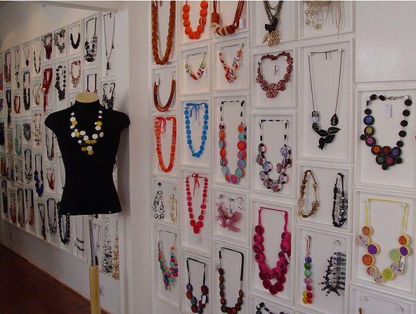 5eea7ed8dd4 Como organizar e expor bijuterias-Mais de 15 boas ideias para te ajudar!
