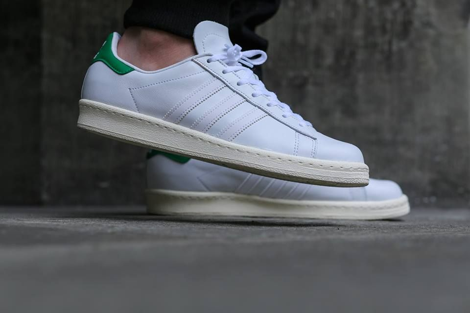 214265eb2cf33a adidas Originals Campus 80s Nigo  White Green
