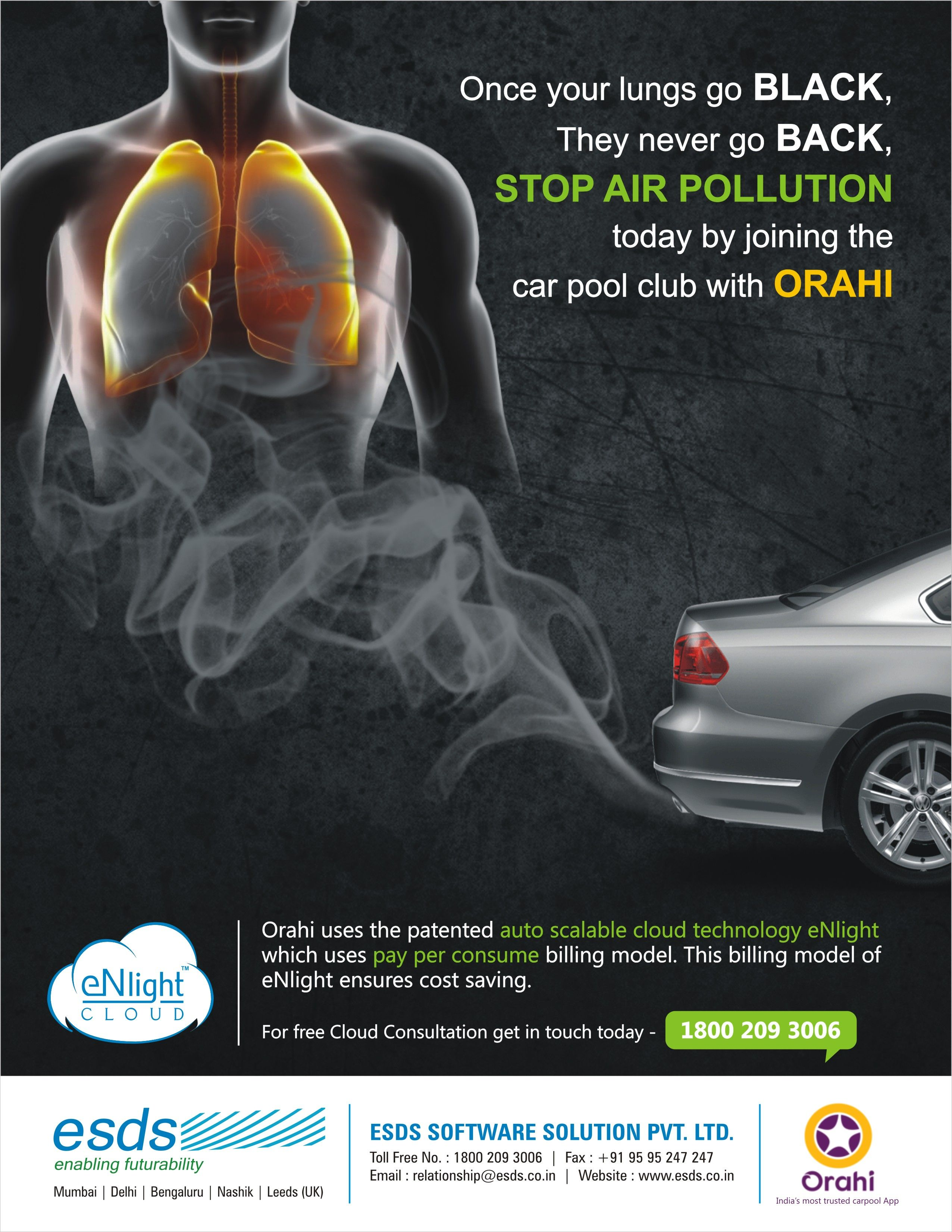Once your lungs go Black, They never go Back! Stop Air