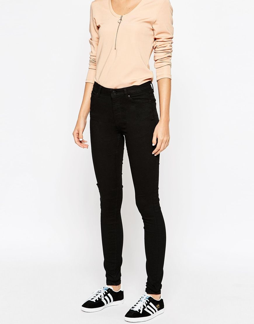d2e8563231 Weekday Body High Waist Super Stretch Skinny Jeans | Wants & Needs 3 ...