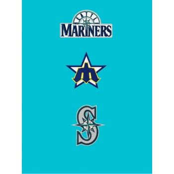 Seattle Mariners 3 Logos Machine Embroidery Designs For Instant
