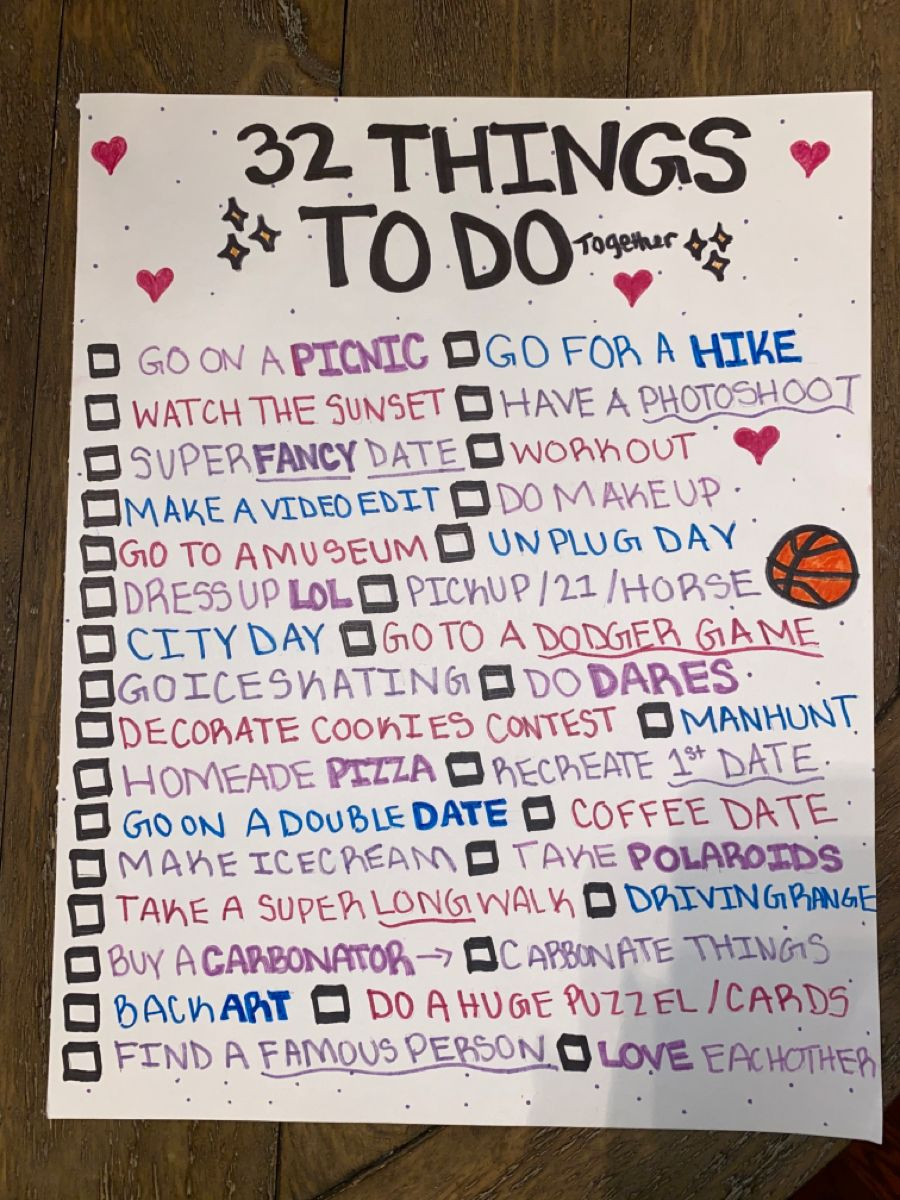Things boyfriend your with to what do 100 Terrific