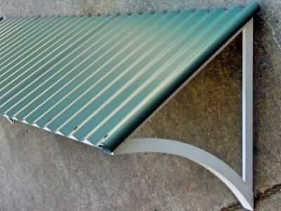 Corrugated Window Awnings | Online Blinds