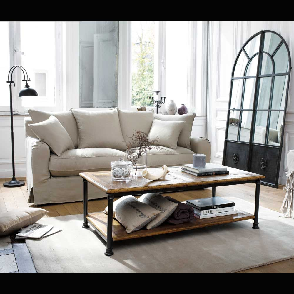 Places To Coffee Tables Canapc 3 Places Fixe Lin Bovary Living Pinterest Floor Lamps