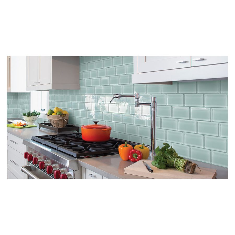 American Olean Stellaris Gemini Gl Indoor Outdoor Wall Tile Common 3 In X 6 Actual 5 875 2 At Lowes