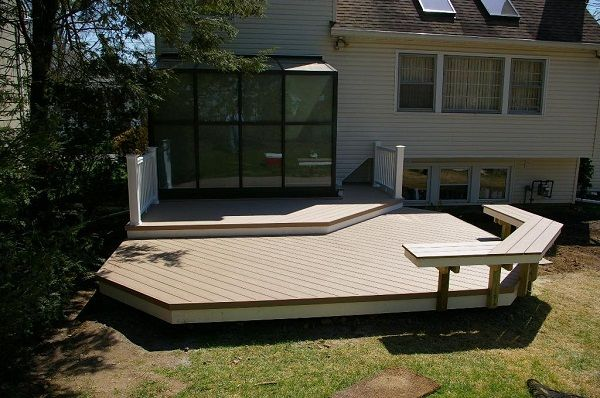 Deck Design Ideas spacious deck Floating Deck Design Ideas Pics