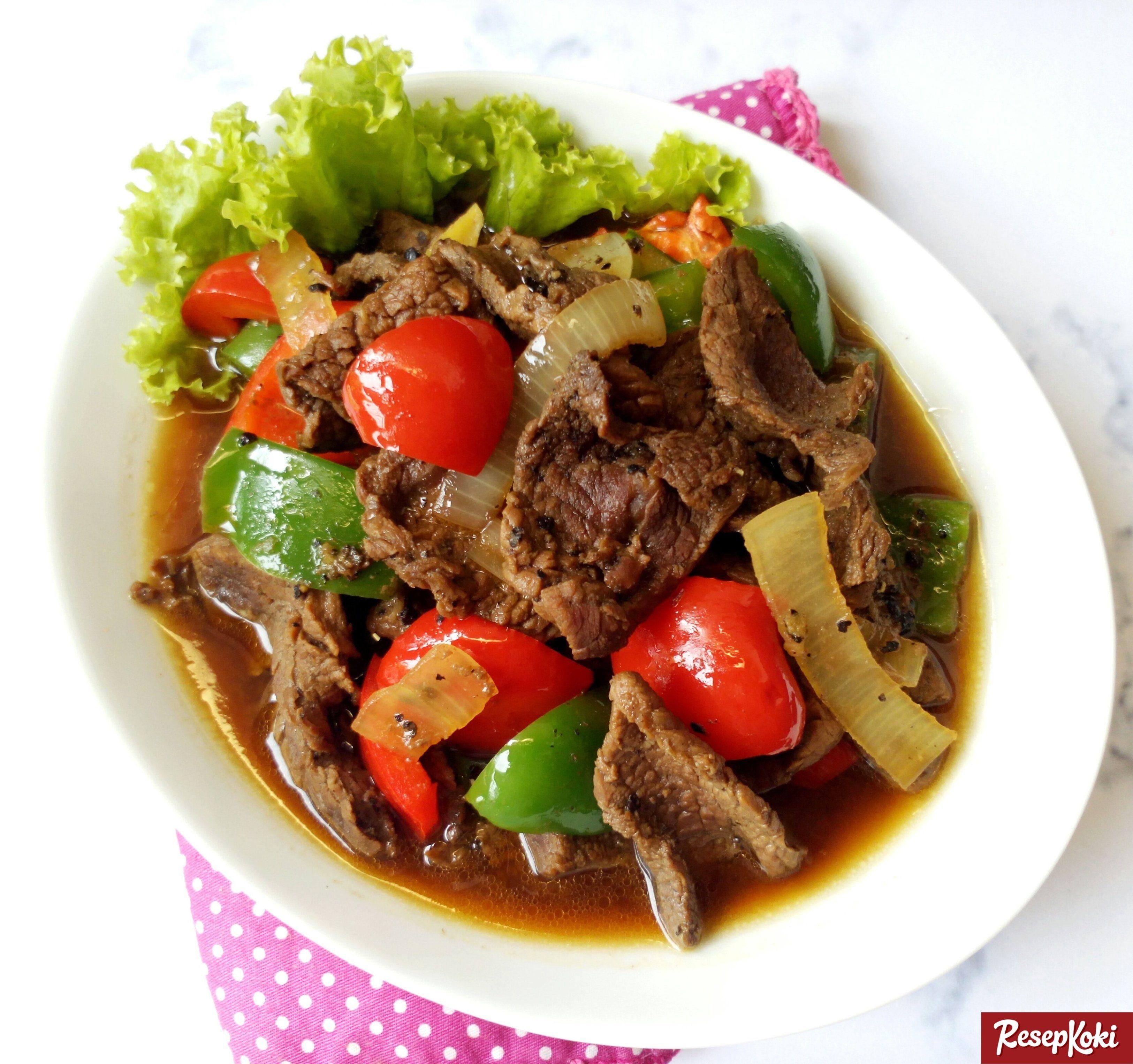 Daging Sapi Paprika Lada Hitam Istimewa Dan Pedas Resep Resepkoki Resep Di 2020 Resep Daging Sapi Resep Makan Malam Makan Malam