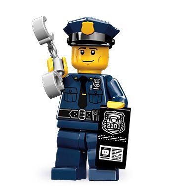 Policeman Gotcha Lego Minifigures Series 9 Legos Fiesta De Legos Lego City Policia