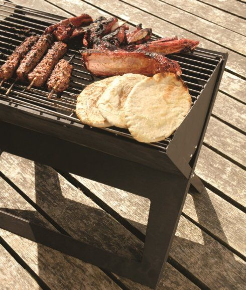 Notebook Charcoal Grill - $29.95 #serenelakeliving
