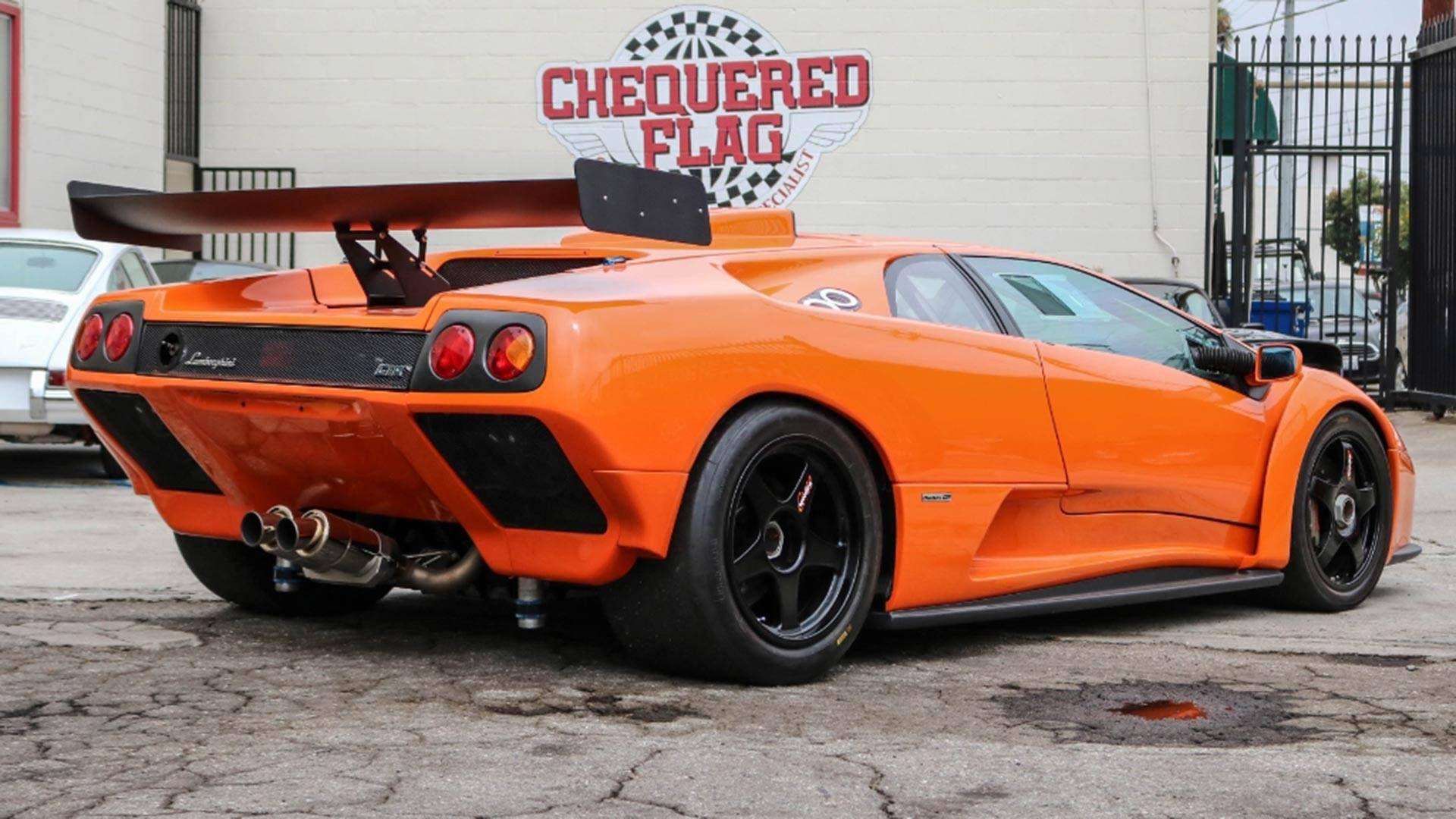 Lamborghini Diablo Gtr For Sale Motor1 Com Photos Nawwaf