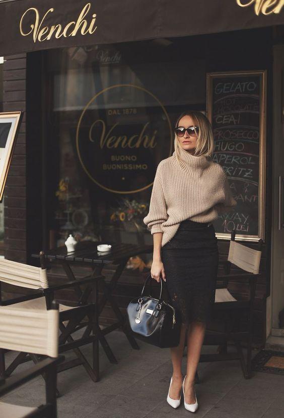 Combinez une jupe crayon pour un usage quotidien - Forum - GLAMOUR   - Outfit -