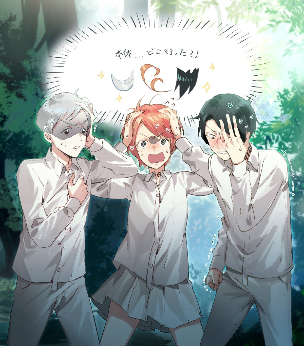 Pin by ×Hot Milk× on The Promised Neverland in 2020