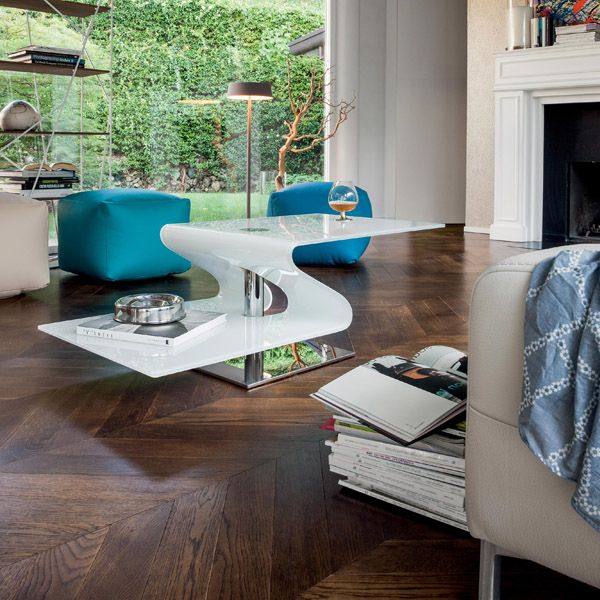 Charmant Two Level, Frosted Glass Coffee Table For A Contemporary Home   Sold At Advance  Furniture   Buffalo, NY   Contemporaryfurniture.com