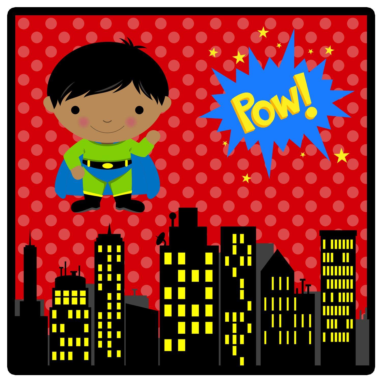Superhero Spotlight Super Hero Theme