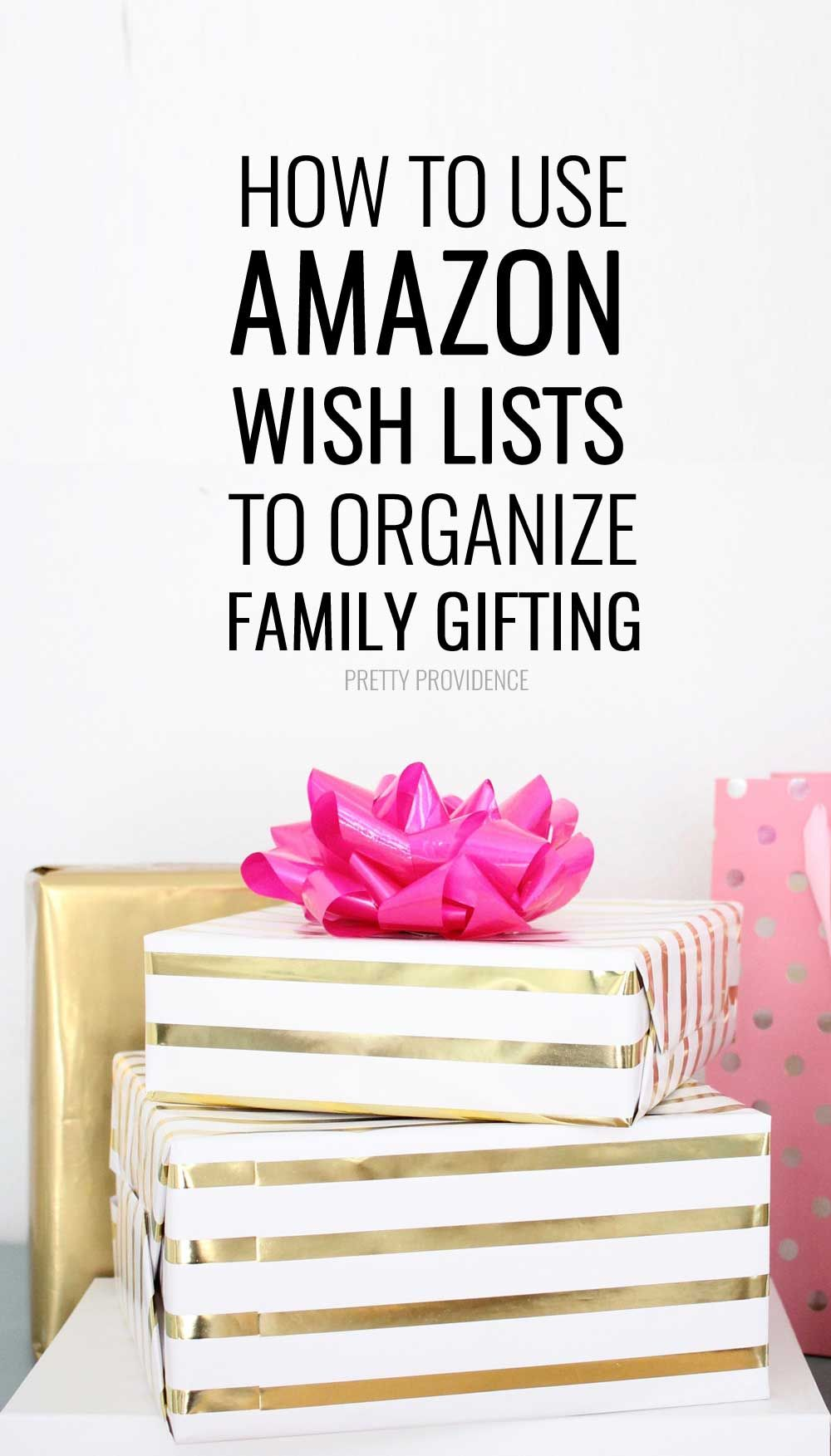 How to Use Amazon Wish Lists for Gifting | Pinterest | Gift ...