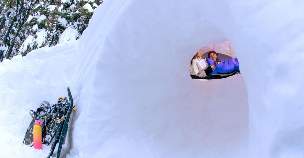 Photo of This Luxury Resort Will Help You Build Your Own Snow Cave for the Ultimate Winter Adventure