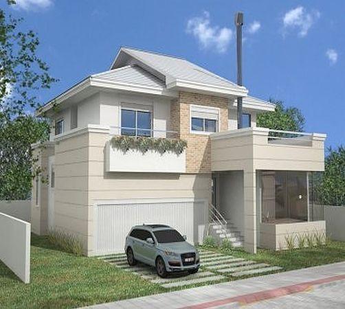 Projetos de Casas Grátis: Fotos de fachadas de sobrados