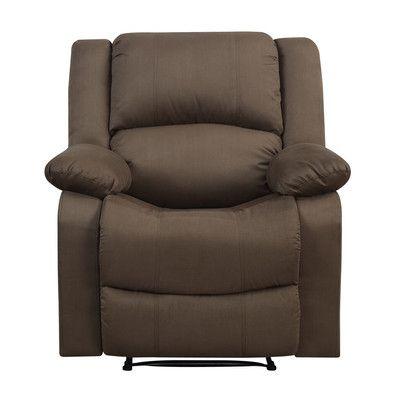 LifeStyle Solutions Warren Recliner Upholstery:
