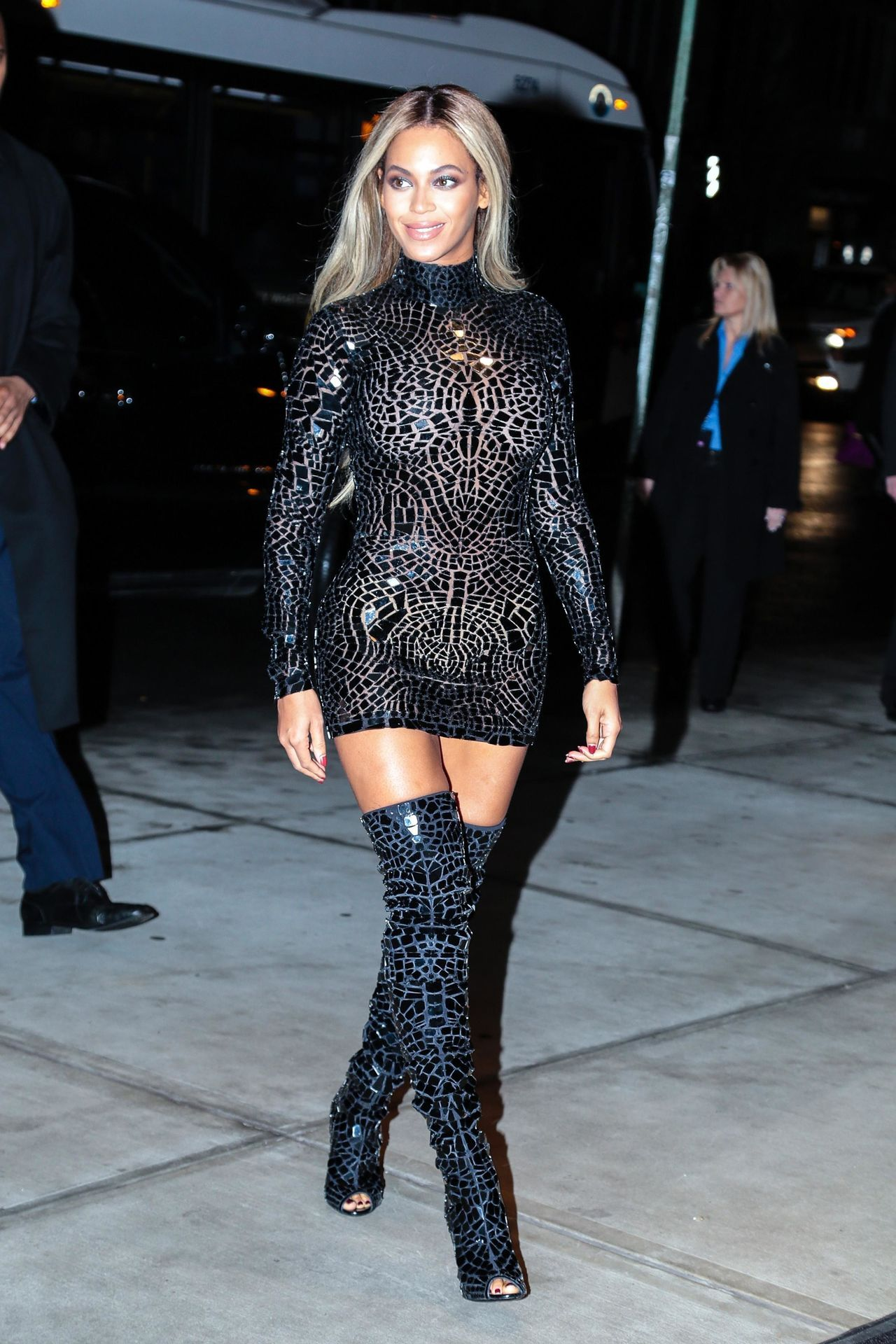 Celebrities In Boots Beyonc In Tom Ford Thigh High Boots