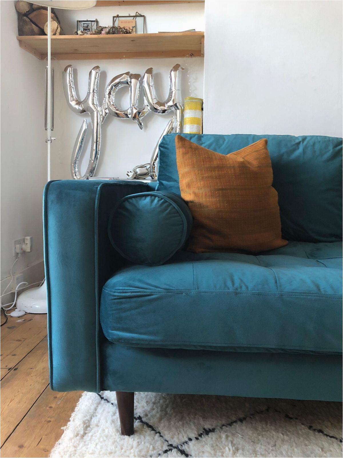 Petrol Blue Velvet Sofa Blue Velvet Sofa Blue Sofa Living Blue Sofas Living Room
