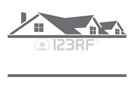 House With Roof Clip Art Marketing Logo Home Logo