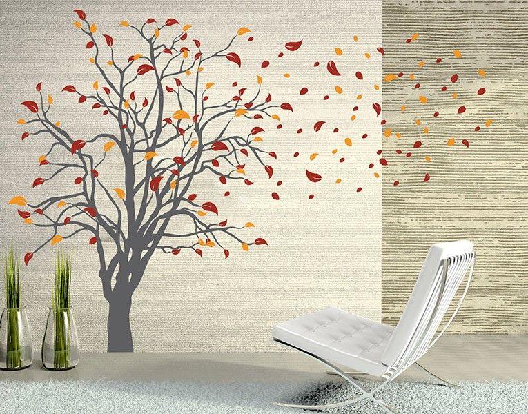 Wandtattoo Prachtvoller Baum Wohnzimmer Pinterest