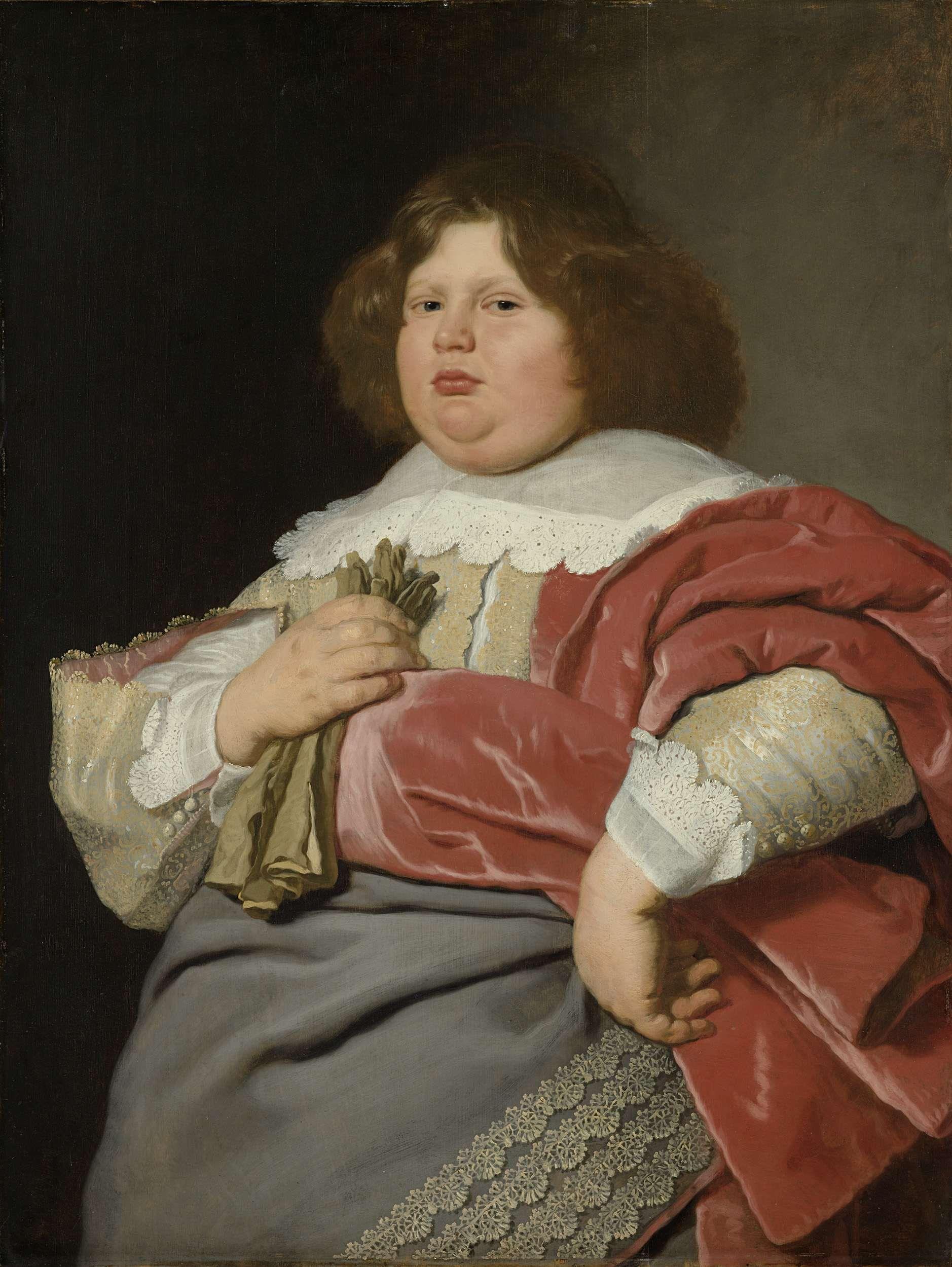 Gerard Andriesz Bicker (1622-66), heer van Engelenburg. Drost van Muiden, Bartholomeus van der Helst, 1640