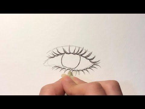 طريقة رسم العين من الصفر للمبتدئين How To Draw Eye Youtube Dandelion Plants Flowers
