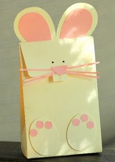 Bunny gift bag easter party favors easter treat bags link bunny gift bag easter party favors easter treat bags link verified on december 4 2013 negle Gallery