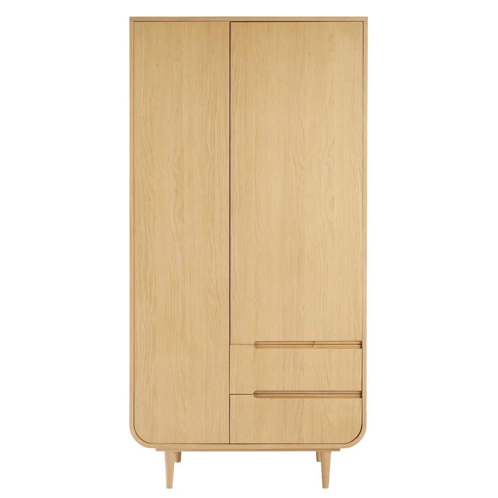 Kleiderschrank Mit 2 Turen Und 2 Schubladen Modern Design Stil In 2019 Schubladen Kleiderschrank Und Schrank