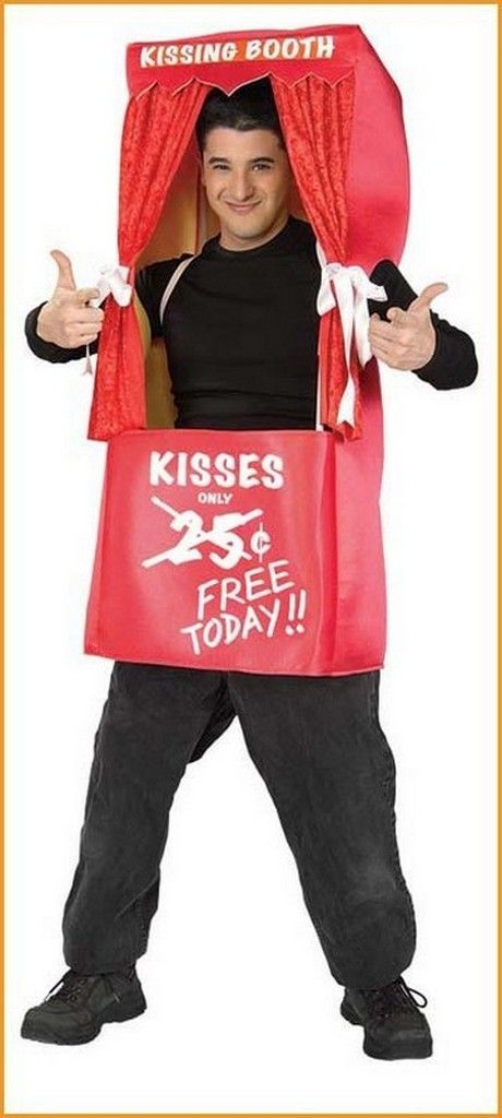Halloween Costumes Kissing Booth Funny Adult Costume - halloween girl costume ideas