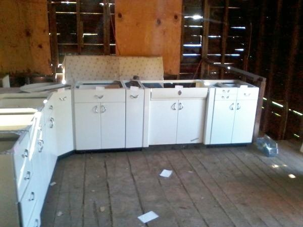Craigslist Vintage Metal Cabinets From Kitchen Cabinet Styles