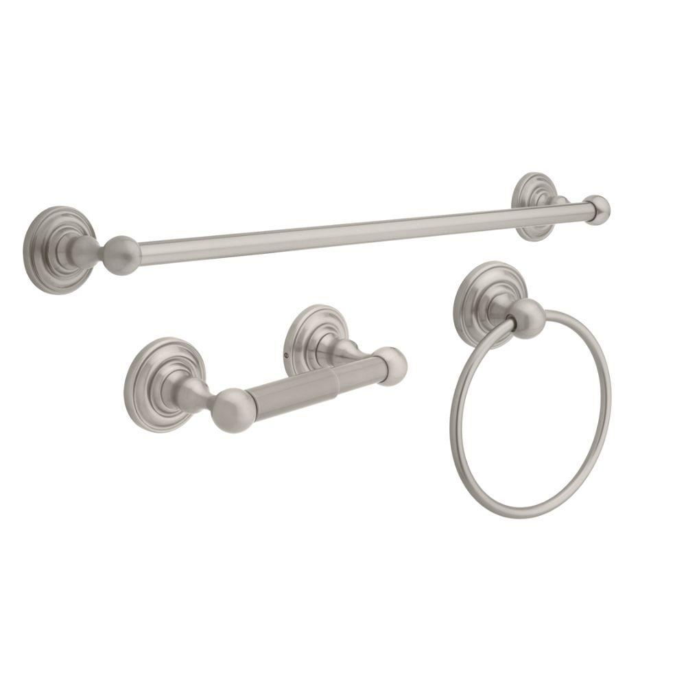 Piece Bath Hardware Set With Towel Ring