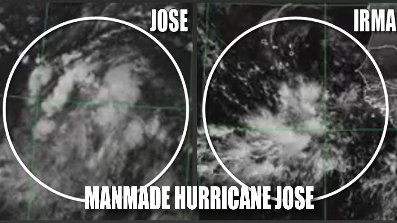 Hurricane Jose 3rd Manmade Storm In 3 Weeks With Images Bible Prophecy Hurricane Jose