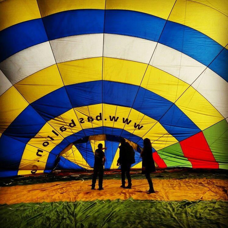 Hotairballoon PH - HUT BAS Ballon 8 April 2015 - Fotograaf Moric van der Meer