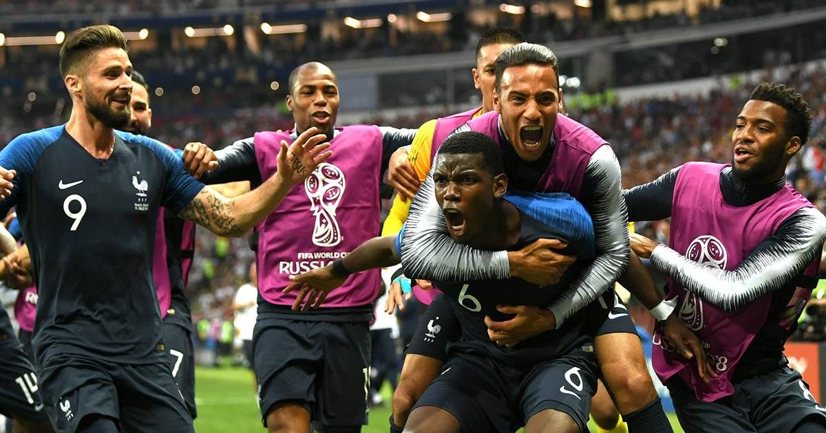 France Won The World Cup On Sunday Putting An End To The Month Long Tournament World Cup Winners World Cup France Team