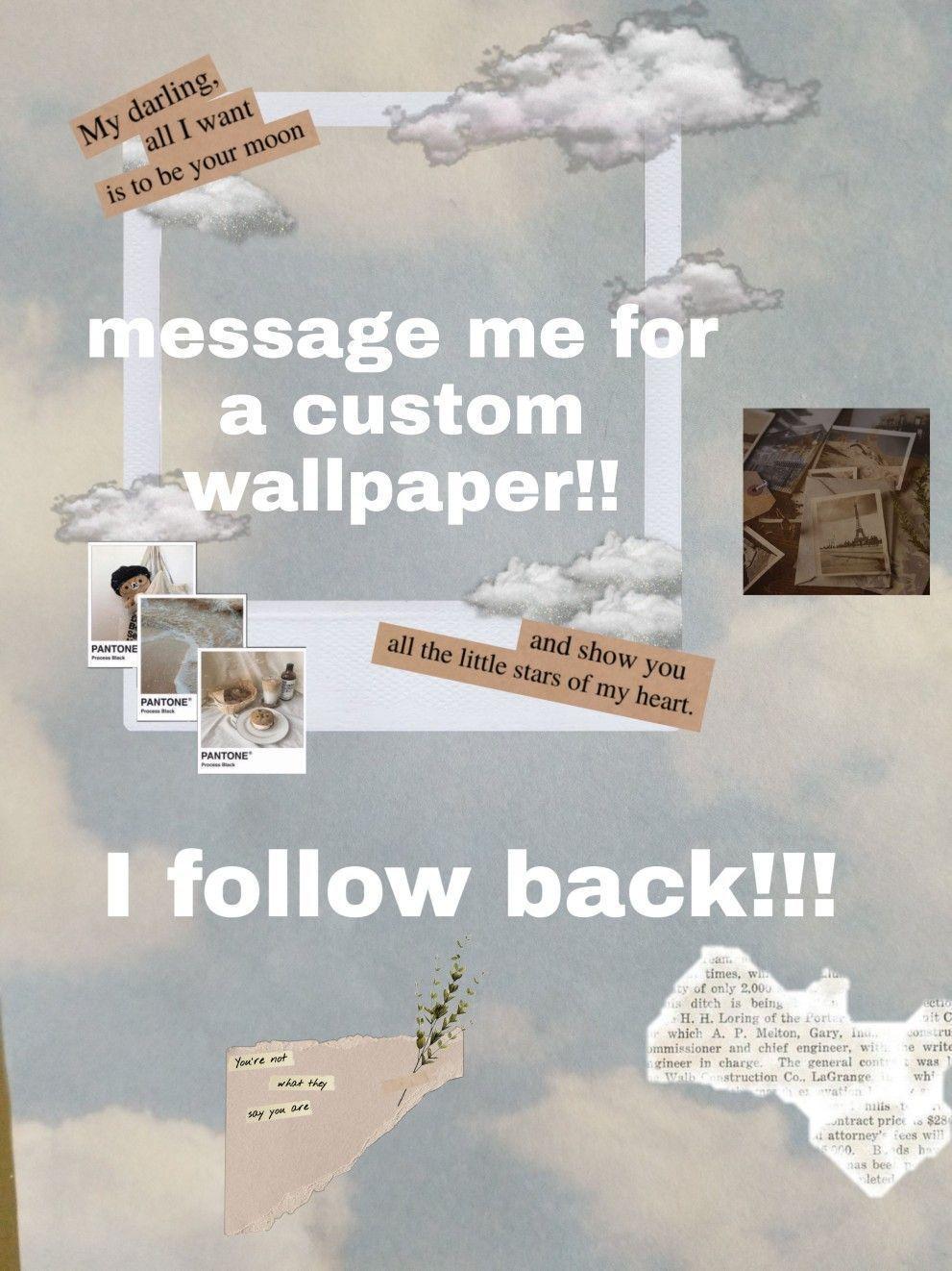 F4f Fff Follow For Follow Summer 2020 Diy Room Decor Custom Wallpaper Followers Summer Vibes Summer In 2020 Minimalist Wallpaper Spongebob Wallpaper Wallpaper