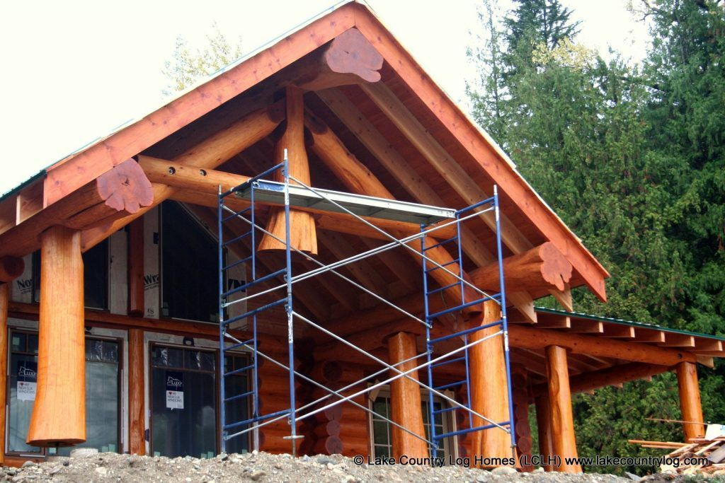Custom Handcrafted Log Homes (With images) Log homes