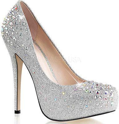 women 39 s fabulicious destiny glitter heels shoes shoe. Black Bedroom Furniture Sets. Home Design Ideas