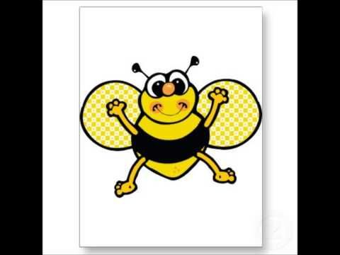 A Bee On My Nose Youtube Bee Coloring Pages Bee Clipart Coloring Pages