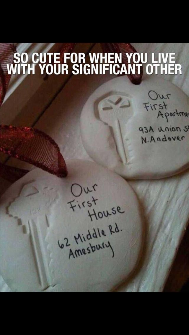 Super Cute Ornaments To Do With A Boyfriend Friend Or Husband Wife First Apartment Home So Doing This